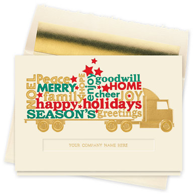 A Truckload of Greetings Card