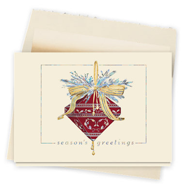 Burgundy Jewel Card
