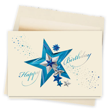 Star Studded Birthday Card