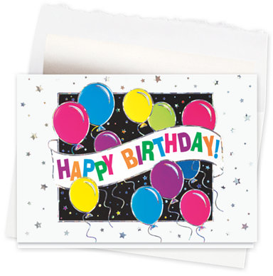 Fun Filled Happy Birthday Card