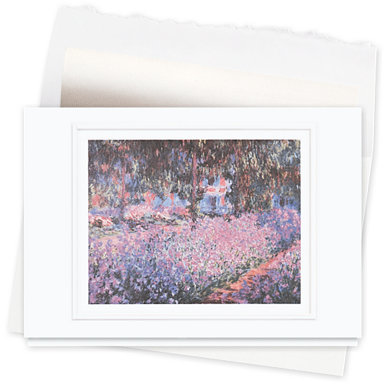 Artist's Garden at Giverny Greeting Card
