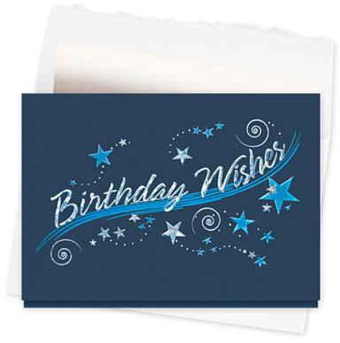 Birthday Sparkle Greeting Card